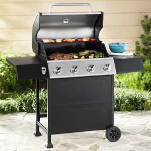 Floor Sample Outdoor Patio 4-Burner Gas BBQ Grill for Sale in Dunwoody, GA