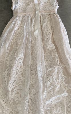 Victoria Puff Sleeve Christening Gown & Bonnet for Sale in Tujunga,  CA