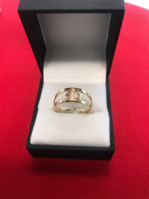 10k gold Quinceañera / 15 year old ring 2910-24405L-04 for Sale in Phoenix, AZ