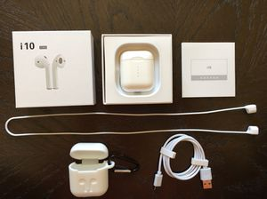 i10TWS AirPods Alternative | Bluetooth 5.0 | Auto-Pairing for Sale in UPR MAKEFIELD, PA