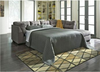 FREE DELIVERY!!! BRAND NEW GREY SECTIONAL SLEEPER SOFA for Sale in Oviedo,  FL