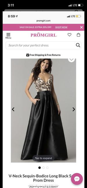 Black Long Prom Dress for Sale in Arvada, CO