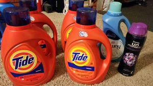 100 FL OZ Tide Liquid Laundry Detergent, Downy for Sale in Goodyear, AZ