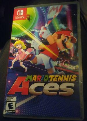 Mario Tennis Aces . Nintendo Switch for Sale in Las Vegas, NV