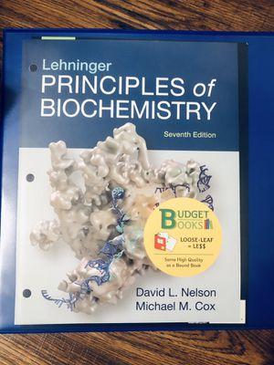 Principal of Biochemistry -7th edition - good condition for Sale in Chandler, AZ