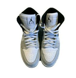 Jordans Grey White 1s for Sale in Brookhaven,  PA