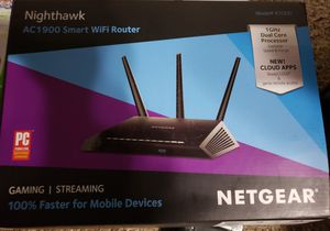 Netgear Router R7000 Nighthawk for Sale in Beaumont, TX
