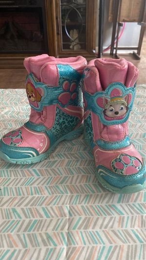 Kids Light up snow boots/ rain boots for Sale in Easley, SC
