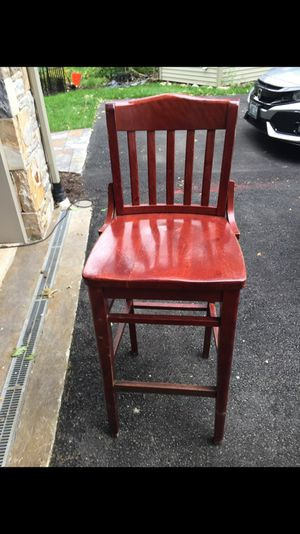 Wooden bar stools 27 in total $20.00 each for Sale in Cranston, RI