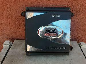 AMPLIFICADOR AMPLIFIER MTX 2 CHANELS GOOD CONDICIÓN ABLO ESPAÑOL for Sale in Stockton, CA