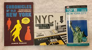 """New York book bundle-Perfect for a """"know-it-all"""" type for Sale in Scottsdale, AZ"""