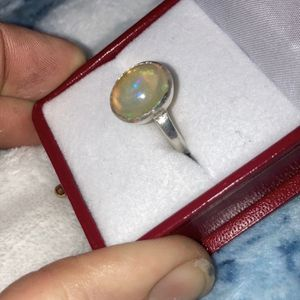Genuine Opal Ring Sterling Silver 925 for Sale in Bartow, FL