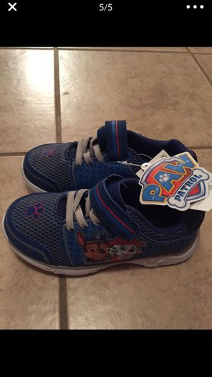 New with tag paw patrol size 8 baby boy toddler shoes for Sale in Nashville, TN