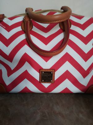 Dooney and Bourke chevron satchel bag for Sale in Washington, DC