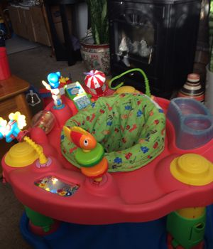 Excersaucer price 19$. Pick up. E. 72nd. Tacoma for Sale in Tacoma, WA