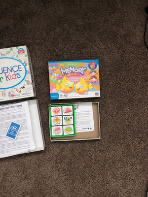 Games - Memory and sequence for kids for Sale in Federal Way, WA