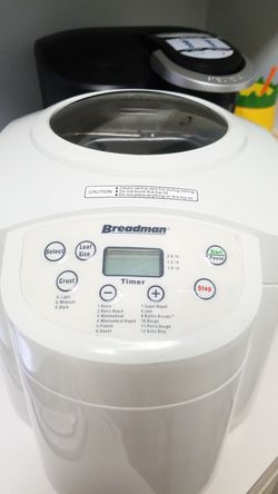 1 - 2 LB Breadman Bread Maker Machine - TR555LC Crust Control $40 for Sale in Sanford,  FL