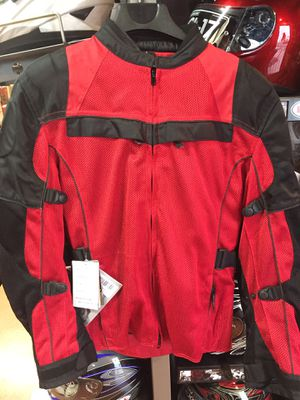 New red and black motorcycle armor jacket $120 for Sale in Whittier, CA