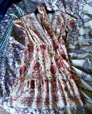 Cream Floral Boho Dress for Sale in East Wenatchee, WA