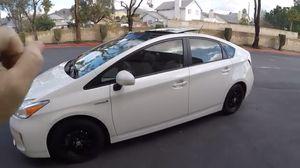 2010 /2014 original rims Toyota Prius 15 inch alloys black with Tires for Sale in Miami, FL