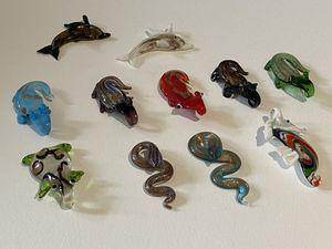 Glass Animal Necklace pendants for Sale in Ashburn, VA