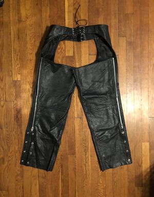 Vintage motorcycle pants XXL real leather paid $260. Excellent condition! Midtown Cycles New York City for Sale in Washington, DC