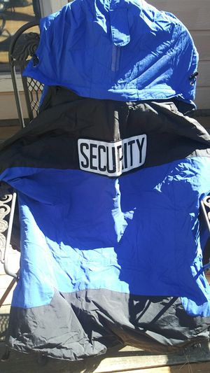 Hooded security jacjet for Sale in Spring Branch, TX