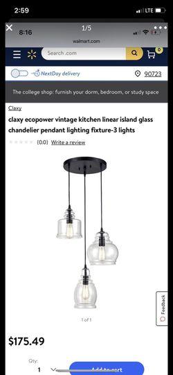 Claxy pendant lighting for Sale in Compton,  CA