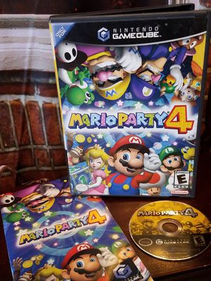 Mario Party 4 Nintendo GameCube Games 2002 Complete Case Disc Manual Video Game for Sale in Tampa, FL