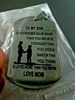 From mother to son dog tag for Sale in Agoura Hills, CA