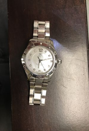 Tag Heuer woman pearl face with diamonds like new for Sale in Aventura, FL