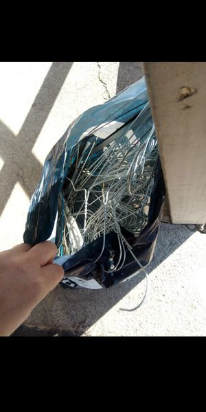 Big bag of metal hangers $10 for Sale in Fresno, CA