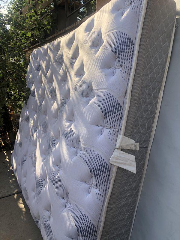 Free mattress with box spring