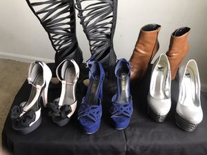 Woman heels 👠 (size 7) $20 for all for Sale in Houston, TX