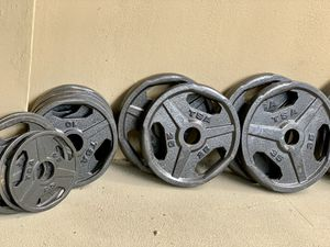 Olympic Weight Plates (Full Set) for Sale in Falls Church, VA
