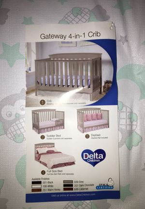 Baby Crib for Sale in Brentwood, MD