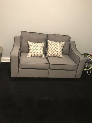 2 piece couch set brand new just put together still have receipt and one year warranty expires 04/2020 for Sale in Washington, DC