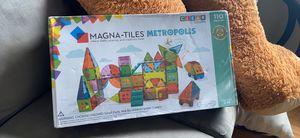 New/sealed MAGNA tiles metropolis for Sale in Tacoma, WA