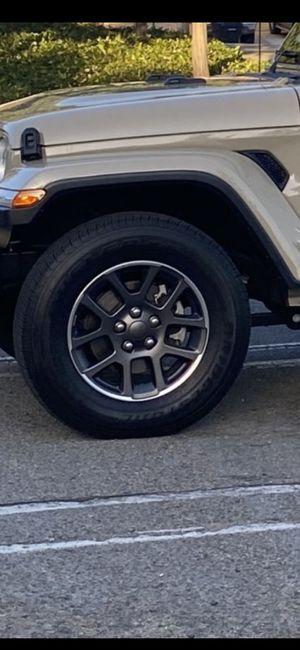 "18""Jeep Wheels W/ Brand New 255/75/17 Bridgestone Tires for Sale in Chino Hills, CA"