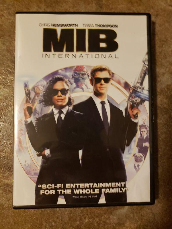 New men in black dvd