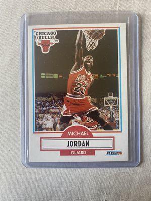 Michael Jordan 1990 Fleer for Sale in Tucson, AZ