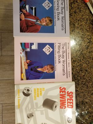 3 Sewing books for Sale in Marysville, WA