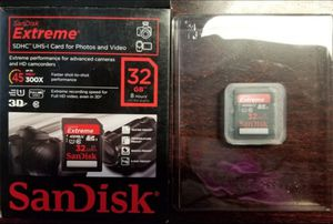 Brand New*32 GB HD video SD card. for Sale in Aberdeen, WA