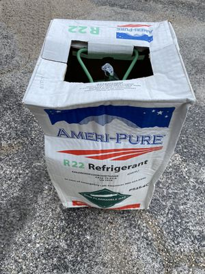 Freon R-22 Refrigerant 30lb Brand New Sealed freon for Sale in Richardson, TX