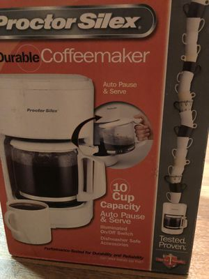 New Proctor silex coffee maker for Sale in Cincinnati, OH