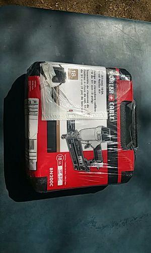 Porter-Cable nail gun 18 gauge bn200c for Sale in Marietta, GA