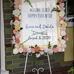 Wedding Welcome Sign for Sale in Brandon, FL