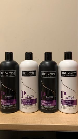4 Tresemme Damage Protect shampoo & conditioner 28 oz: all 4 for $9 for Sale in Alexandria, VA