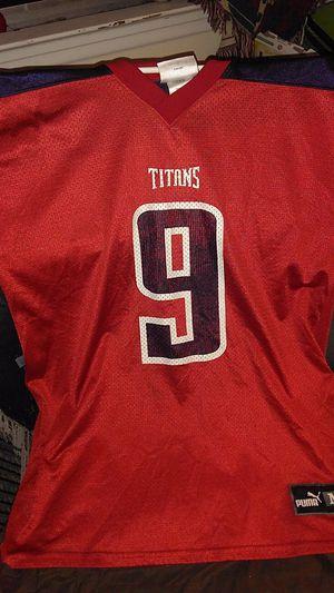 Puma Steve McNair vintage jersey for Sale in Nashville, TN