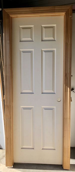 "2'4"" LH Six Panel Interior Door PreHung Brand New for Sale in Virginia Beach, VA"